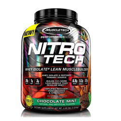 პროტეინი MUSCLETECH PERFORMANCE SERIES NITRO-TECH 100% WHEY GOLD
